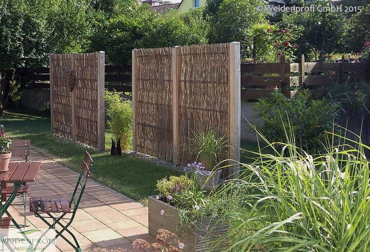 die besten 25 naturzaun ideen auf pinterest wohn zaun z une zum schutz der privatsph re und. Black Bedroom Furniture Sets. Home Design Ideas