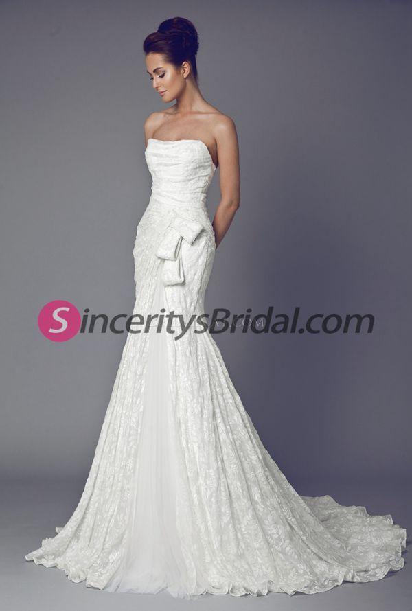 Magnífico Vestido De La Dama Jenny Packham Ideas Ornamento ...