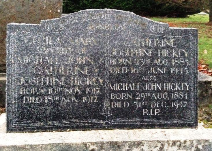 Catherine Josephine <i>Mulqueen</i> Hickey