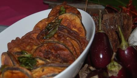 Goan spiced aubergines