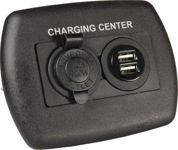 12V/USB CHARGING CENTER