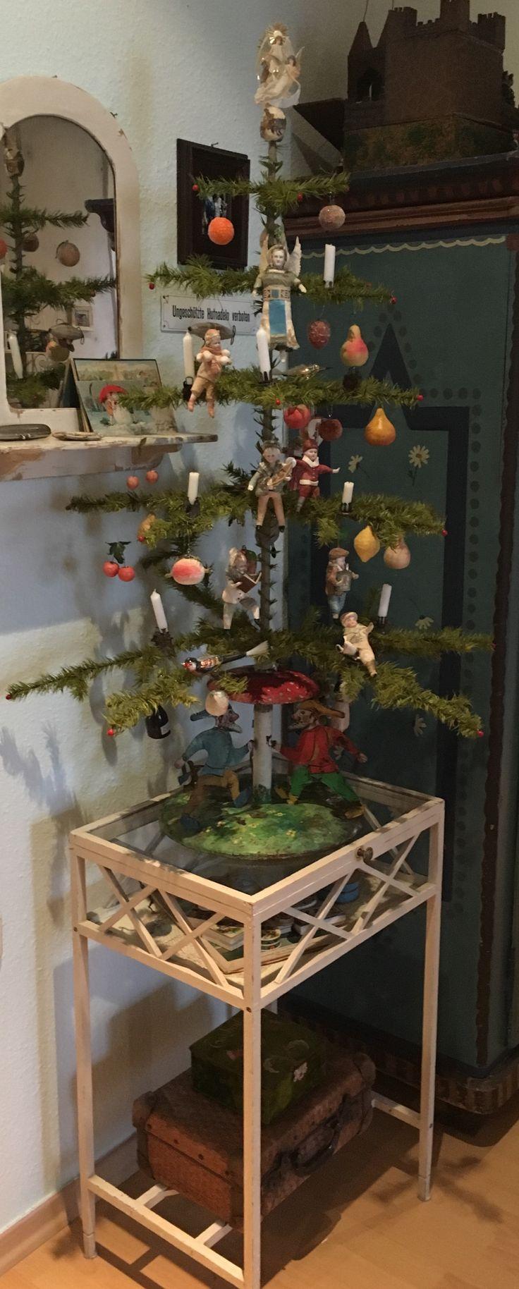 756 besten nostalgische weihnachtsdeko bilder auf for Antike weihnachtsdeko
