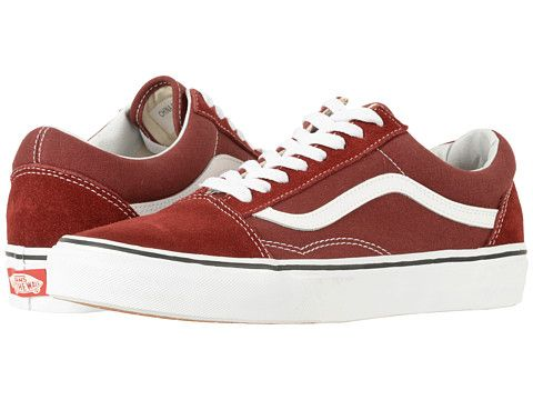 7c0b73074a Vans Old Skool Sneakers (Rust Red) (I want a little more orange tho ...