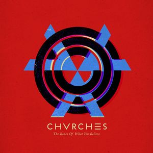 """The Bones of What You Believe is the debut studio album by Scottish synthpop band Chvrches. It was released on 20 September 2013 by Virgin Records and Goodbye Records. The album has spawned the singles """"The Mother We Share"""", """"Recover"""" and """"Gun""""."""
