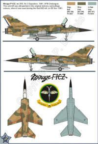 Mirage F1 in SAAF Service by Paul Dubois