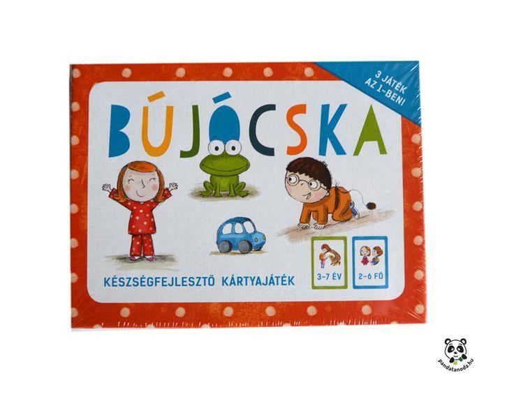 Bújócska készségfejlesztő kártyajáték ovisoknak   Pandatanoda.hu Játék webáruház