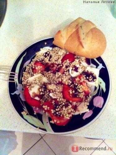 Салат с моцареллой