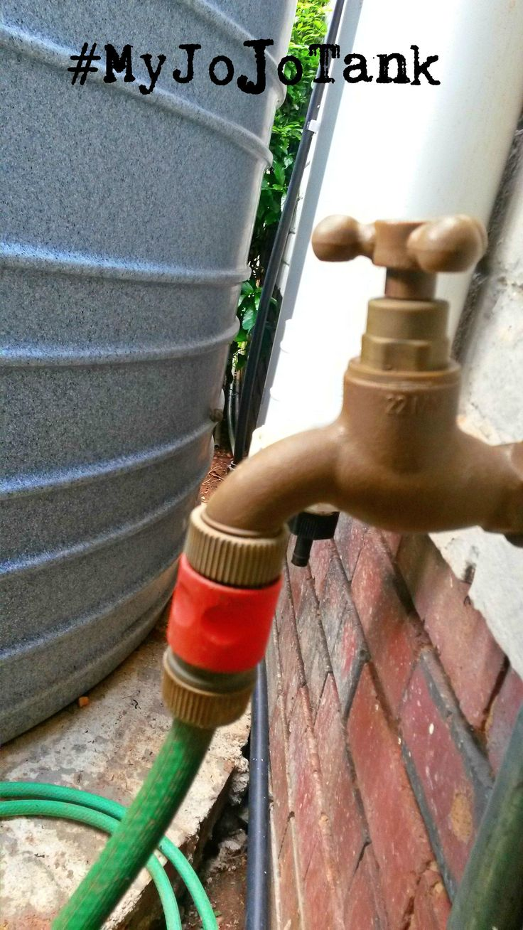 This tap is one of my favourite feautures of #MyJoJoTank rainwater harvesting installation. The tap is attached to the tank, so it gives us easy access to the water and we can attach a hosepipe to  it. #RainwaterHaravesting #SaveWater #GreenLiving