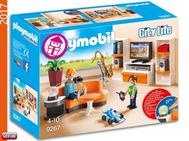 2460 best love playmobil images on pinterest for Playmobil living room 4282