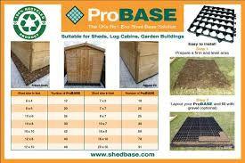 Image result for shed bases