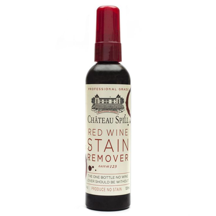 Château Spill Red Wine Stain Remover Spray Bottle For Fabric | Yellow Octopus