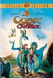 Quest for Camelot (1998) -  Frederik Du Chau. La spada magica - Alla ricerca di Camelot.  (USA).  Warner Bros.