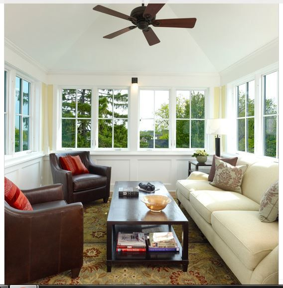175 best images about sunroom ideas enclosed porches on for Sunroom windows ideas