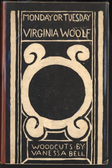 Monday or Tuesday - Virginia Woolf / woodcuts and cover design by Vanessa Bell