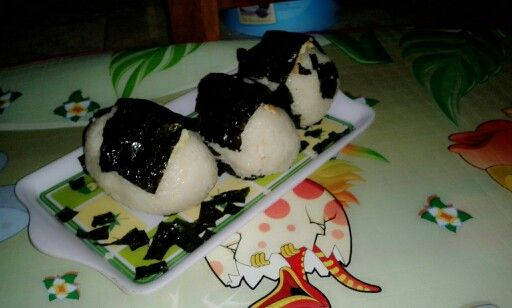 Onigiri.... my hand made