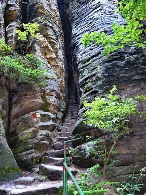 The secret entrance to Mordor - Prachov Rocks, Czech Republic (by jidhash)