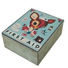 metal dåse - first aid