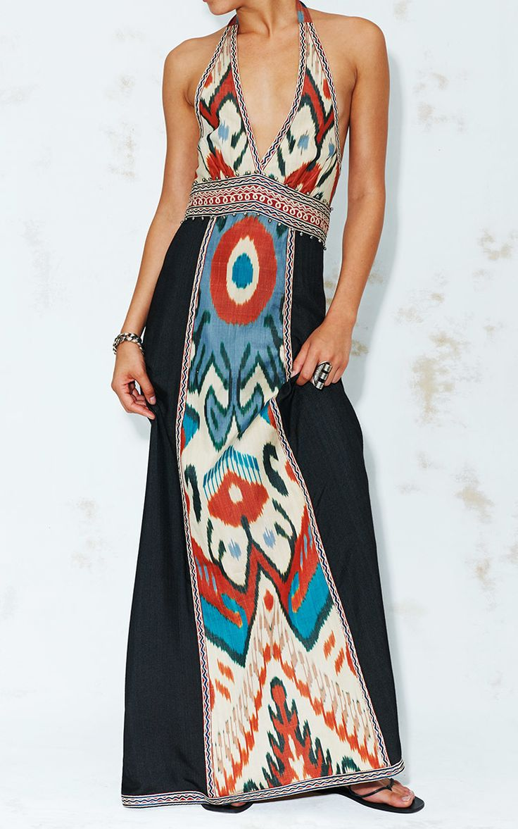 Ikat Halter Dress | Talitha