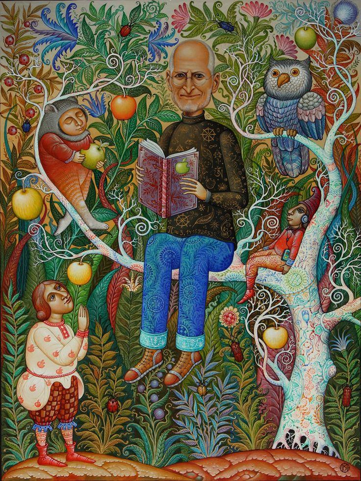 Сообщество иллюстраторов / Иллюстрации / Молодкин Даниил / Очень хороший человек