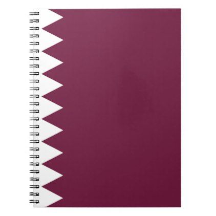 #Low Cost! Qatar Flag Notebook - #travel #office #gifts