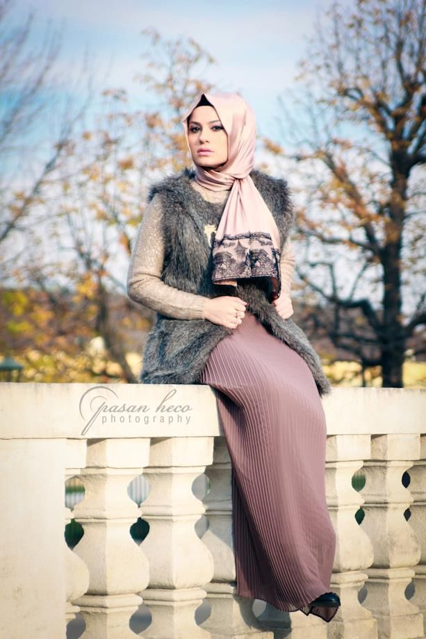 Hijab-with-fur-jackets