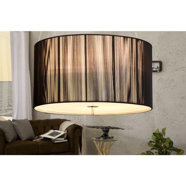 Moderne hanglamp Extenso zwart M - 15593