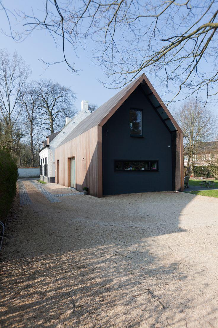 Renovatie en uitbreiding voormalige jachtopzienerwoning - Gent - architectenbureau Callebout-Architecten