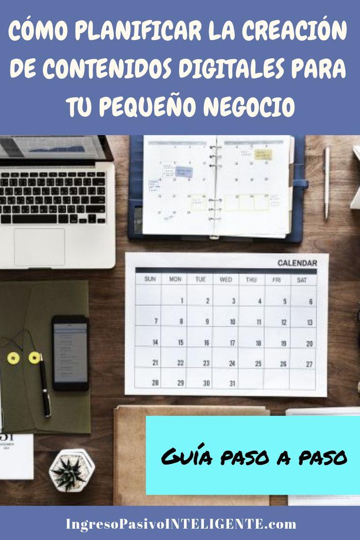 Como crear contenidos digitales para tu pequeño negocio