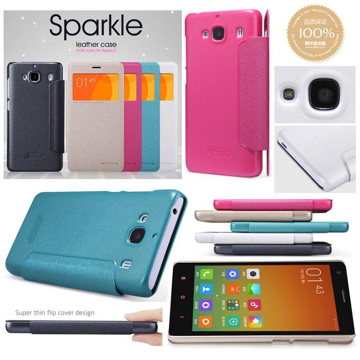 Nillkin Sparkle Leather Case Xiaomi Redmi 2 - Rp 125.000 - kitkes.com