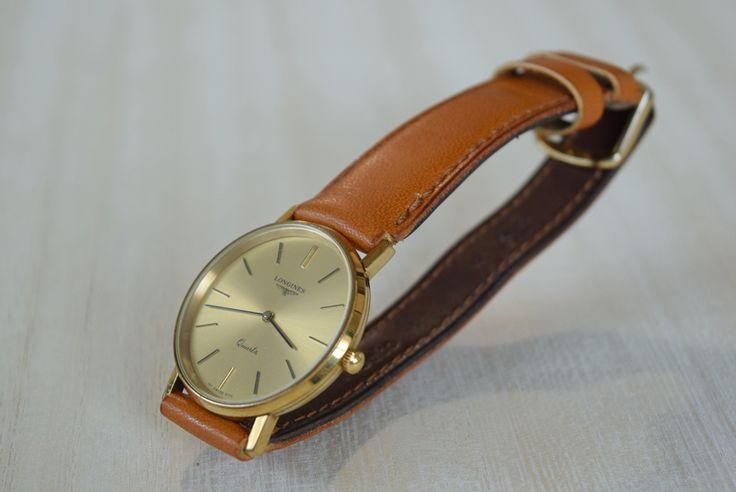 ロンジン 腕時計ベルトリフォーム