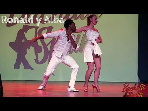 Ronald y Alba Show [Bachata Spain Congress 2017] - YouTube