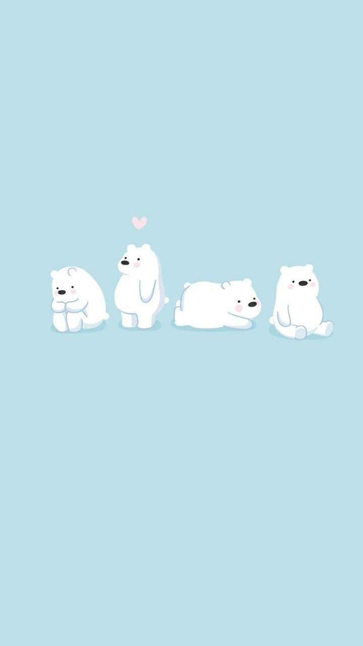 Mantanku Bosku Bear Wallpaper We Bare Bears Wallpapers Cute Cartoon Wallpapers
