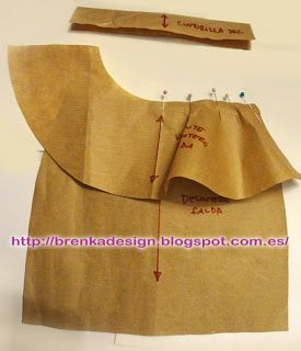 Brenka Diseño+Moda: MODA y PATRONES: Como hacer una FALDA PEPLUM