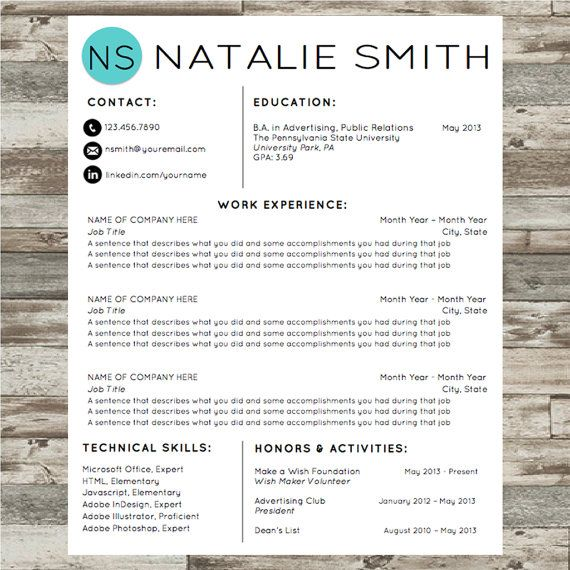 45 best Resume Tips Resume Design Resume Templates images on - how to use a resume template in word 2010