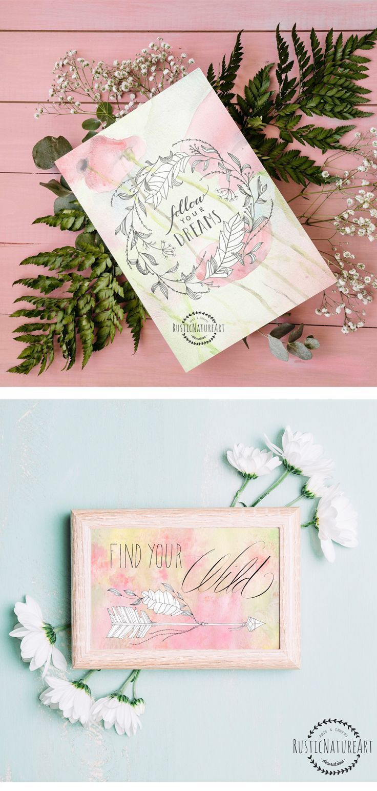 Best 25 flower coupons ideas on pinterest flowers on porch girly quote wall art print follow your dreams girls room decor chic wall art inspirational quote boho decor reviewsmspy
