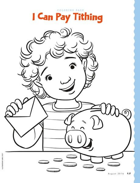 18 best LDS Primary Coloring Pages images on Pinterest | Primarias ...