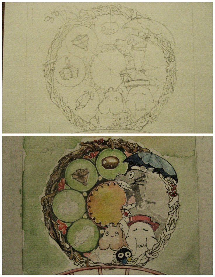 Miyazaki -watercolor and ink on paper-