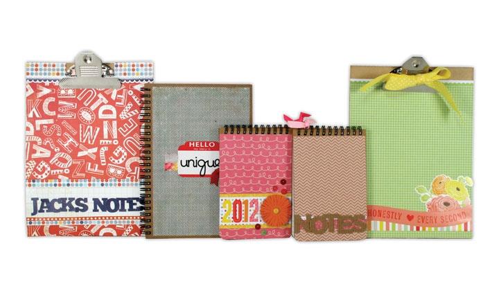 Altered clipboards and spiral notepads.: Spirals Notepad, Clips Boards, Teacher Appreciation, Art Journals, Scrapbook Idea, Crafts Idea, Projects Idea, Altered Clipboards, Boards Design