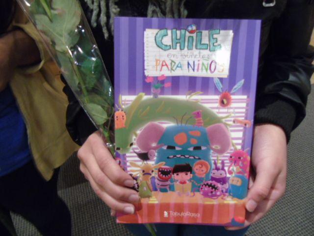 Portada del libro Chile en viñetas para niños.