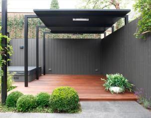 Moderne, kleine tuin