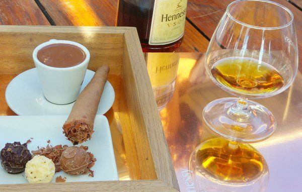 Try our #Hennessy box of indulgence. Chocolate cigar, truffles, hot chocolate & a serve of Hennessy VSOP or XO. Exclusive at Shimmy Beach Club. info@shimmybeachclub.co.za to book table