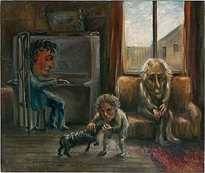 Arthur BOYD, The brown room 1943