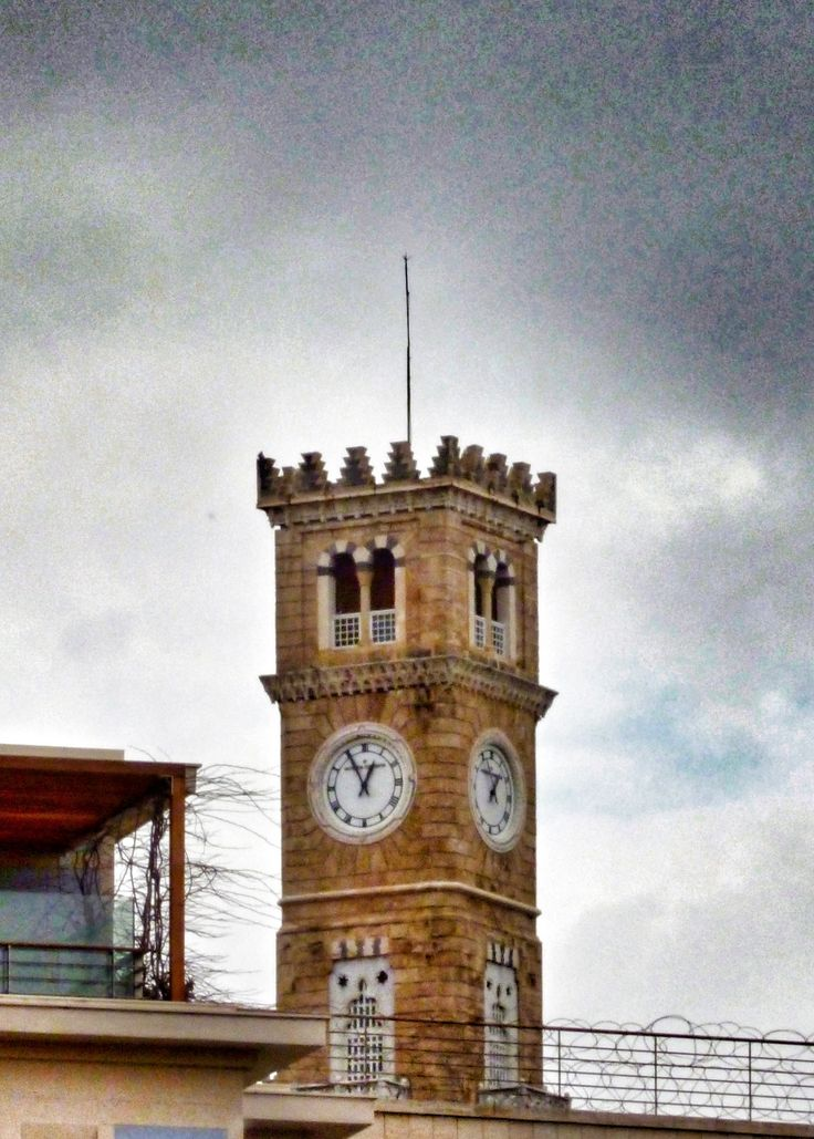 Hamidiyyeh Clock Tower - Beirut, Lebanon  In 1897, a clock tower was built near the Grand Serail to celebrate the anniversary of Ottoman Sultan Abdul Hamid II's coronation and to make up for the absence of a public clock indicating mandatory Muslim prayer times especially that many foreign institutions had built western style clock towers.