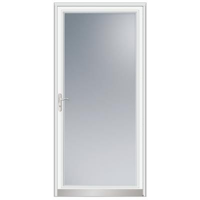 Andersen   34 Inch Width, 3000 Series Fullview, White Door, Nickel Hardware    21088   Home Depot Canada