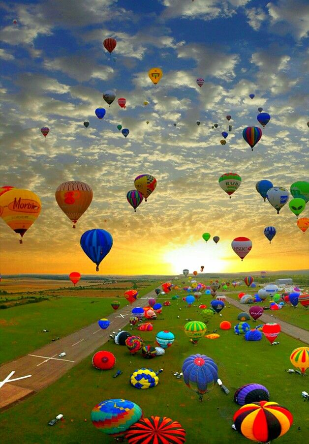 Pin by Heba Hassan on breakfast Hot air balloon festival