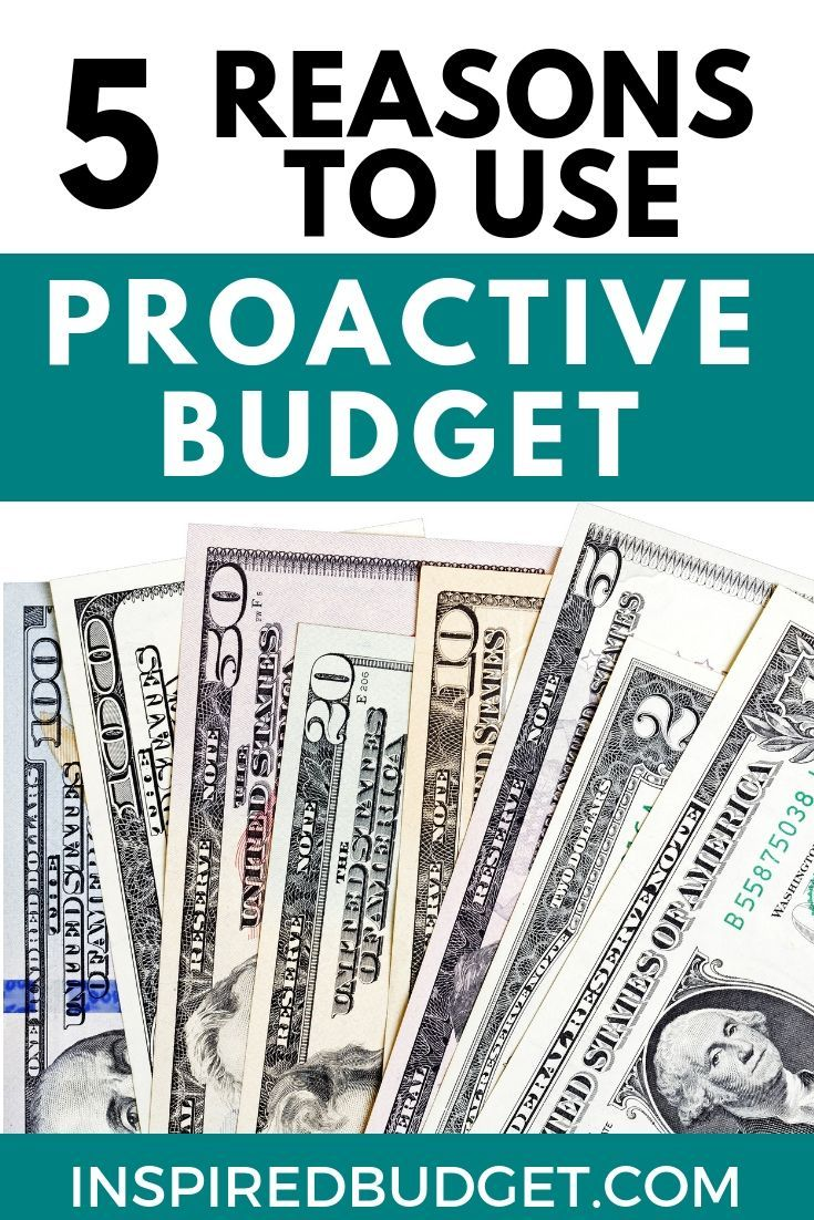 Top 5 Reasons You Should Be Using ProActive Budget