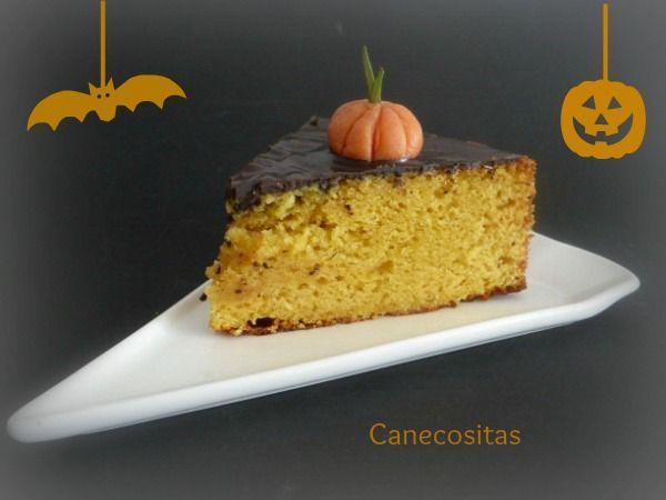 Disfruta de este bizcocho en Halloween o durante todo el invierno. ¡Delicioso! y de rápida preparación.