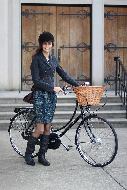 Bicycle babe #skirt