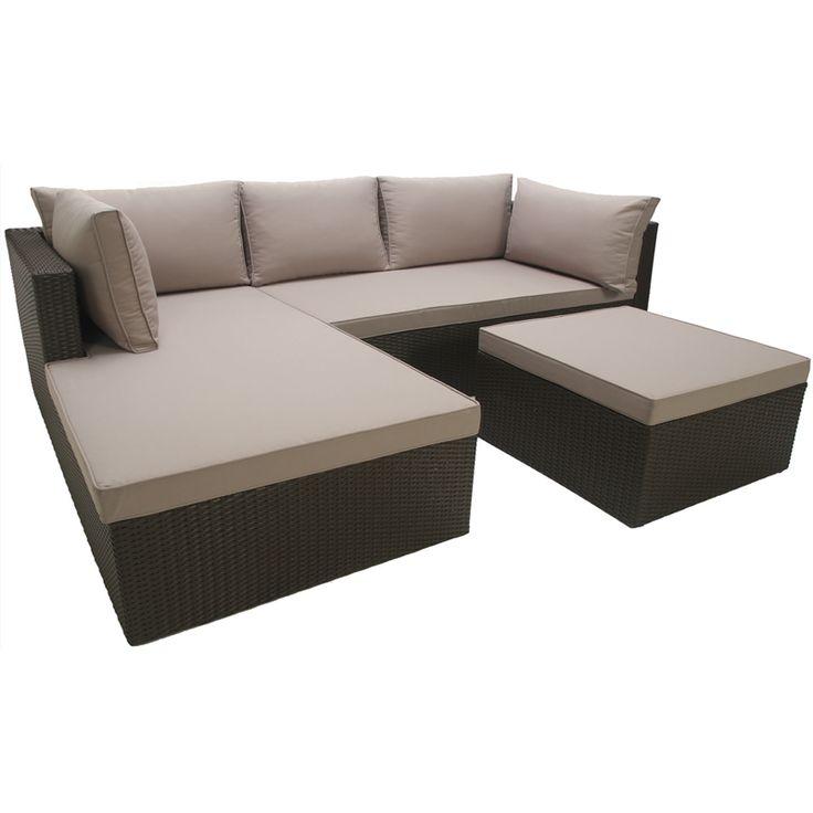 Mimosa 39 Corsica 39 Corner Lounge Setting I N 3191836 Bunnings Warehouse Outdoor Ideas