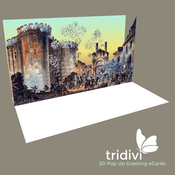 France celebrates National Day on 14th July. Send Bastille Day free online cards and greeting eCards to your friends with www.tridivi.com
